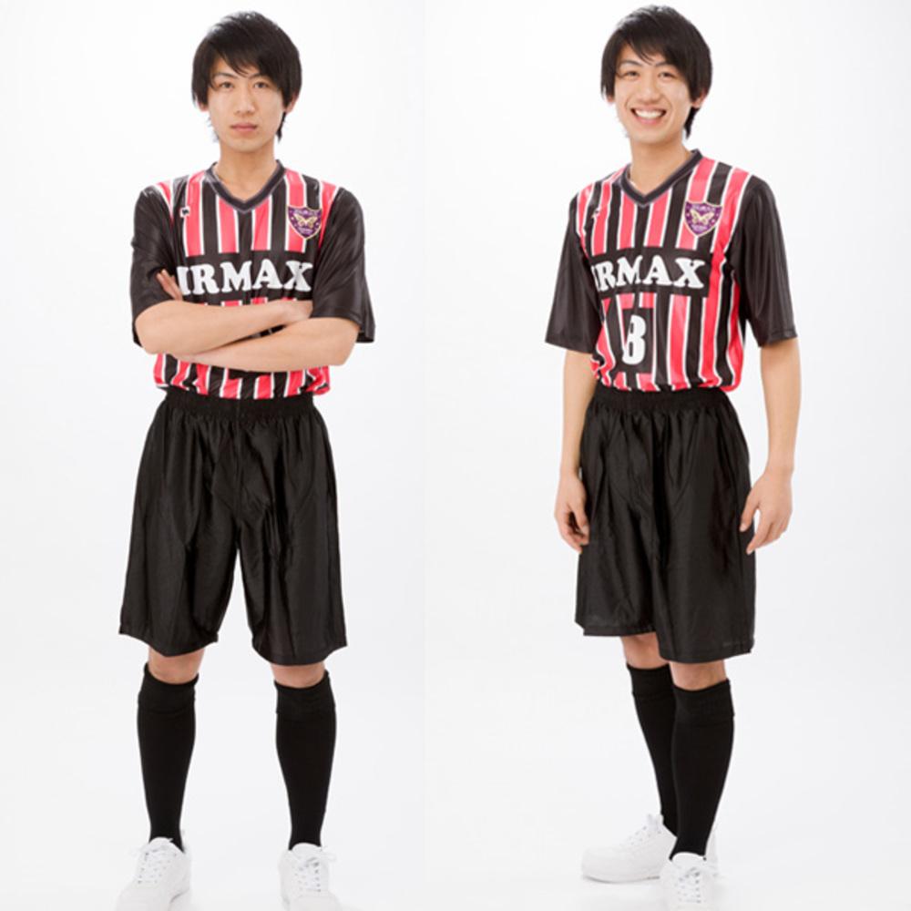 激安昇華ゲームシャツ・サッカーパンツ・ロングソックス3点セット